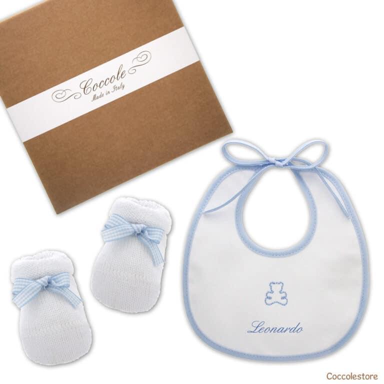 Regalo nascita personalizzato azzurro