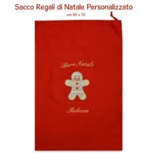 Sacco Regali di Natale Personalizzato