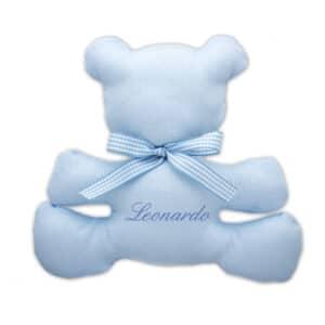 Doudou Personalizzato Orsetto Azzurro