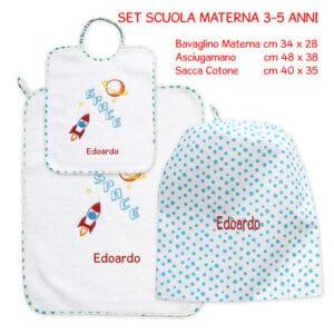 Set Asilo Personalizzato Materna Space