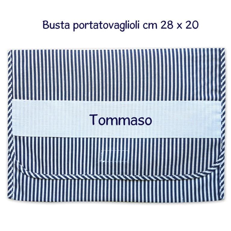 BUSTA-PORTATOVAGLIOLI-RIGHE-BLU
