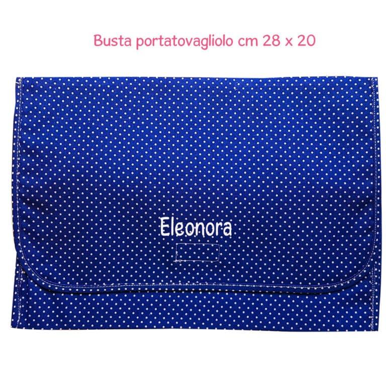 BUSTA-PORTATOVAGLIOLO-POIS-BLUETTE