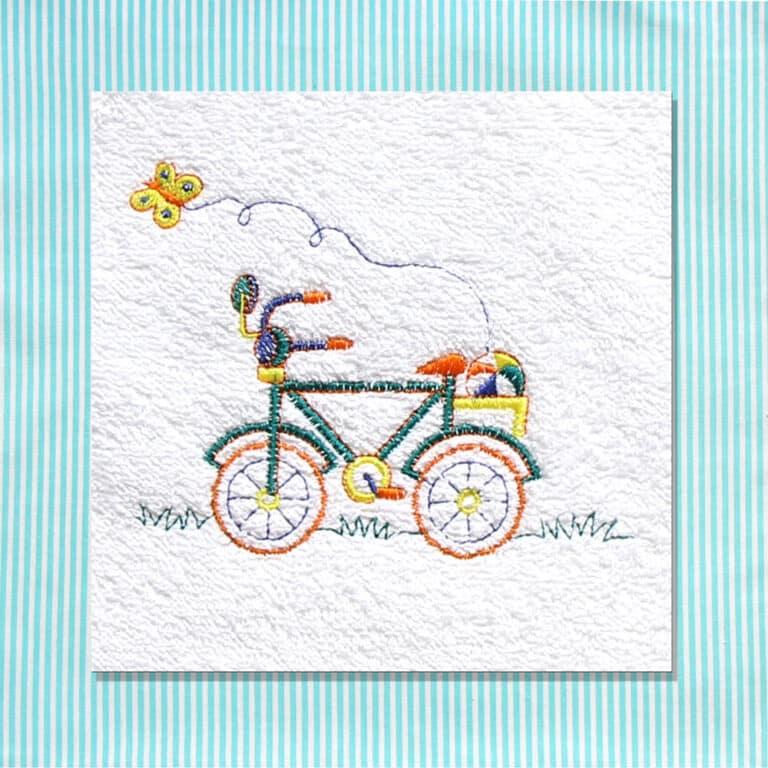 Set Asilo Personalizzato Nido Bicicletta