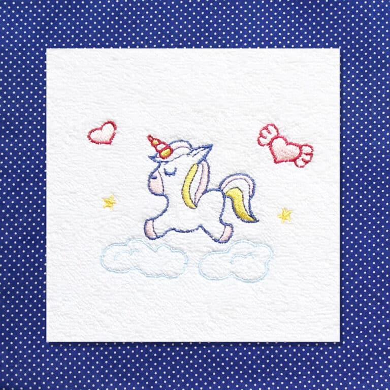 Set Asilo Personalizzato Nido Unicorno