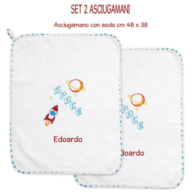 SET-2-ASCIUGAMANI-SPACE-TURCHESE