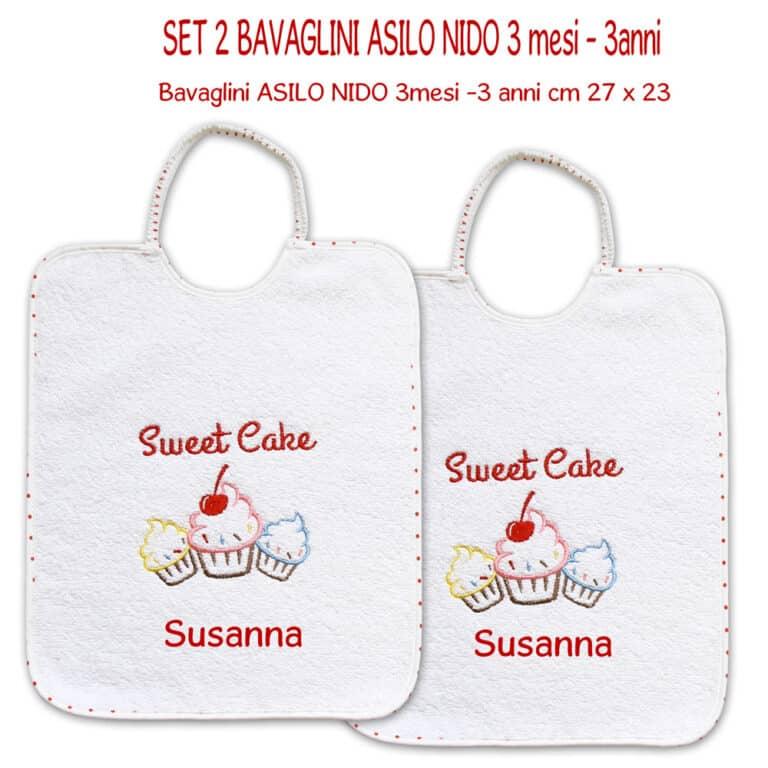 SET-2-BAVAGLINI-NIDO-LOVE-CAKE-POIS-ROSSO
