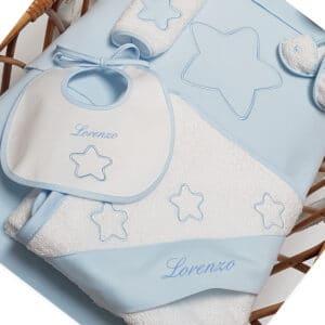 Corredino Personalizzato Stellina Azzurro