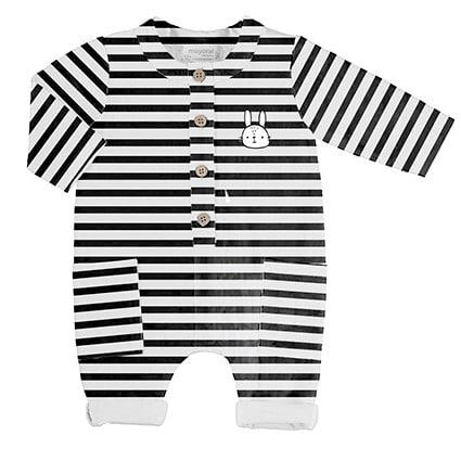 Tutina in jersey serie black&White Mayoral