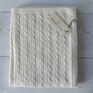 Copertina culla in pura lana